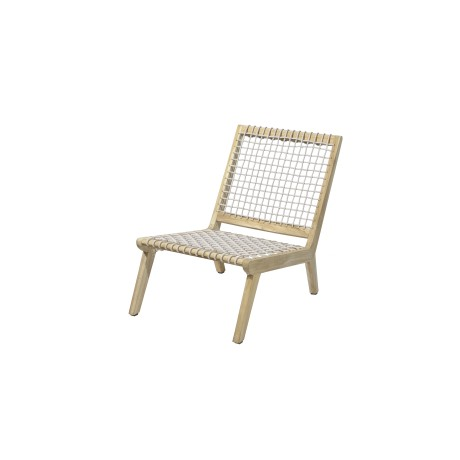 MAX&LUUK Lucy lage fauteuil