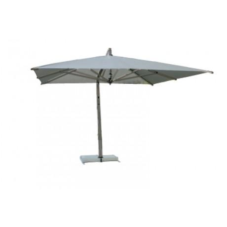 Borek Capri parasol grafiet rechthoekig