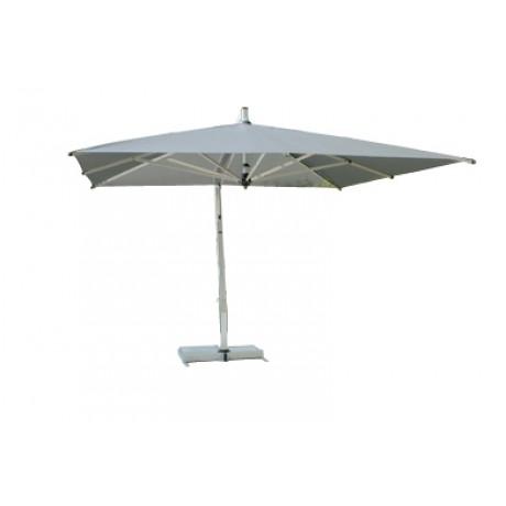 Borek Capri parasol zilver rond en vierkant