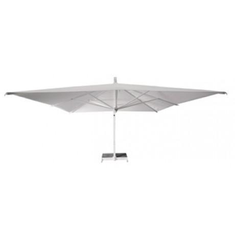 Borek Rodi parasol wit vierkant en rechthoekig
