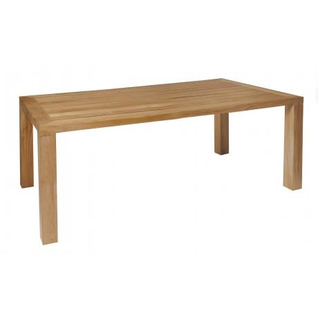 BOREK Cortona teak tafel 180x110cm.