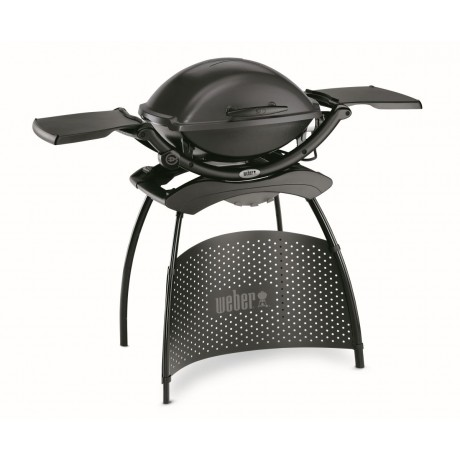 WEBER elektrische barbecue Q 2400 stand dark grey