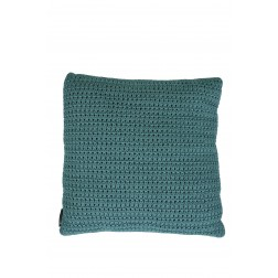 BOREK Crochette sierkussen blue slate