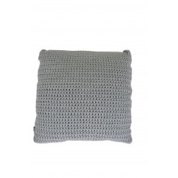 BOREK Crochette sierkussen Iron grey