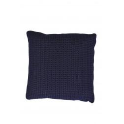 BOREK Crochette sierkussen Navy