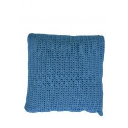 BOREK Crochette sierkussen turquoise
