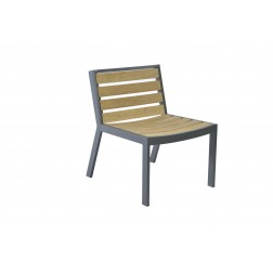 BOREK Twisk stoel zonder armleggers