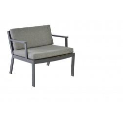 BOREK Twisk lage fauteuil met armleggers
