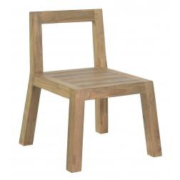BOREK Cadiz reclaimed teak stoel