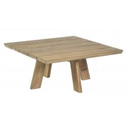 BOREK Tarifa lage tafel reclaimed teak 80x80