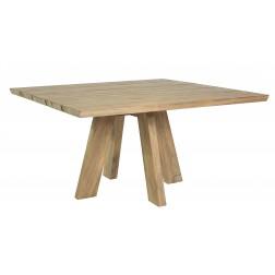 BOREK Tarifa reclaimed teak tafel 140x140