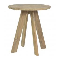 BOREK Tarifa reclaimed teak tafel rond 70cm.
