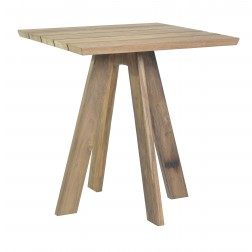 BOREK Tarifa reclaimed teak tafel 70x70