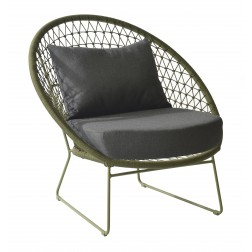 MAX&LUUK Nora lage Fauteuil Moss