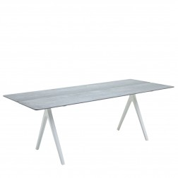 Gloster Split tafel keramiek 92cm x 220cm