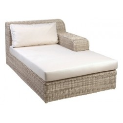 BOREK Atlanta chaise longue links