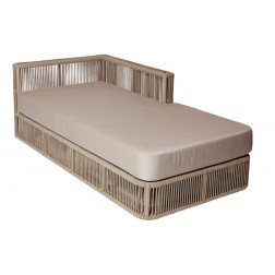 BOREK Lincoln chaise longue links