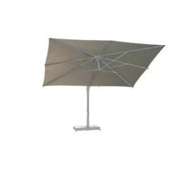 Borek Rodi parasol zilver rond, vierkant en rechthoekig