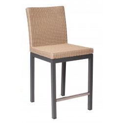 BOREK Geneva high dining stoel / barstoel