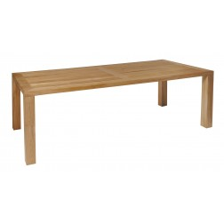 BOREK Cortona teak tafel 260x110cm.
