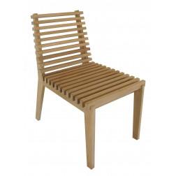 BOREK Merano teak stoel zonder armleuningen