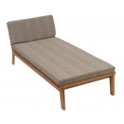 BOREK Merano chaise longue zonder armleuningen