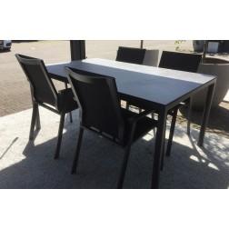 Solpuri set Soft tafel en 4 Soul stoelen