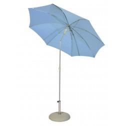 MAX&LUUK Katie parasol ø200cm. Licht blauw.
