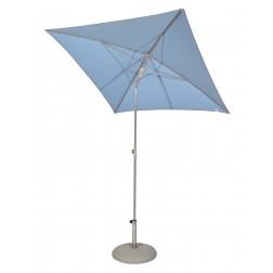 MAX&LUUK Katie parasol 160x160cm. Licht blauw