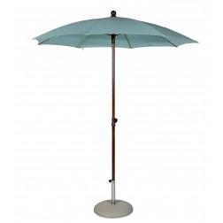 MAX&LUUK Olivia parasol rond 200cm. Aqua de Mar