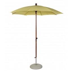 MAX&LUUK Olivia parasol rond 200cm. Geel.
