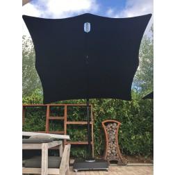 Umbrosa parasol model Spectra black 250cm.