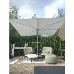 Umbrosa parasol model Spectra UX Architectuur wit