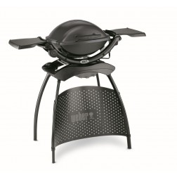 WEBER elektrische barbecue Q 1400 stand dark grey