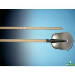 AKTIE schepbats met essen Batsesteel 130 cm