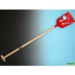 Betonschop rood met schopsteel 110 cm