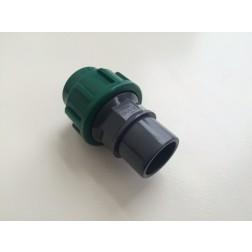 Koppeling PE-PVC
