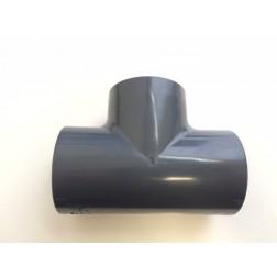 T-stuk PVC 90°