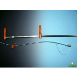 Zeisboom metaal gebogen 150 cm