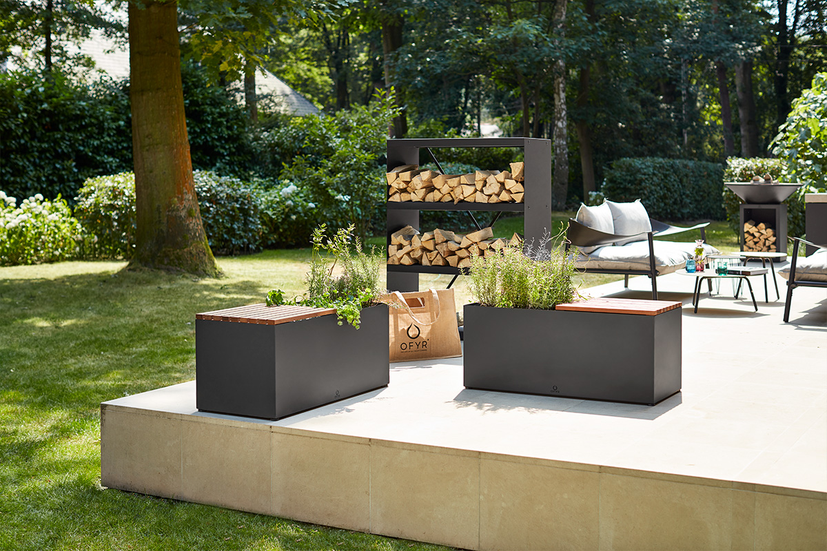 Wood storage Furniture